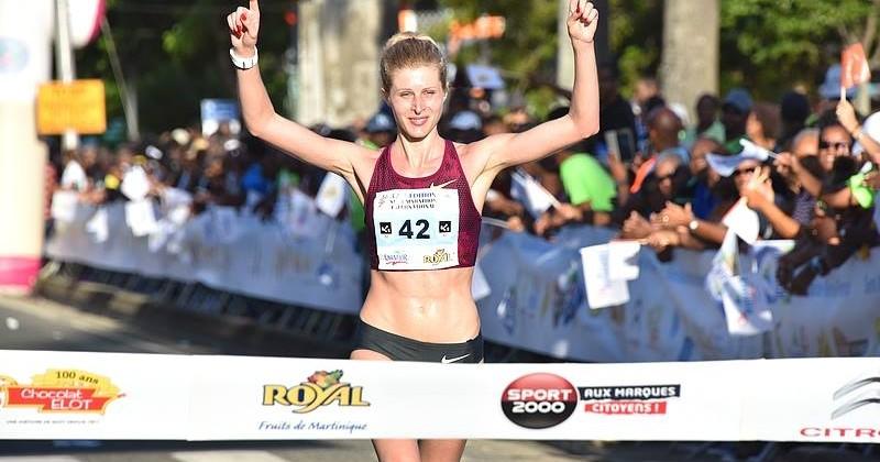 Победительницей соревнований по полумарафону на Мартинике стала украинская спортсменка