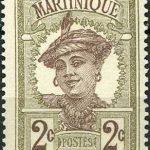 История почты и марок Мартиники