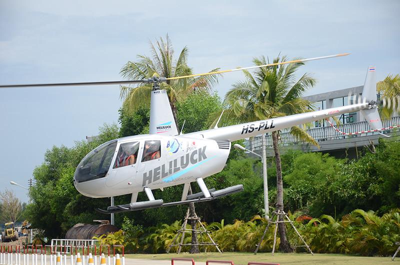 Вертолетные прогулки на Мартинике