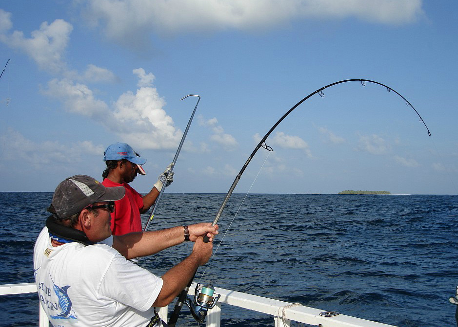 Рыбалка на Мартинике